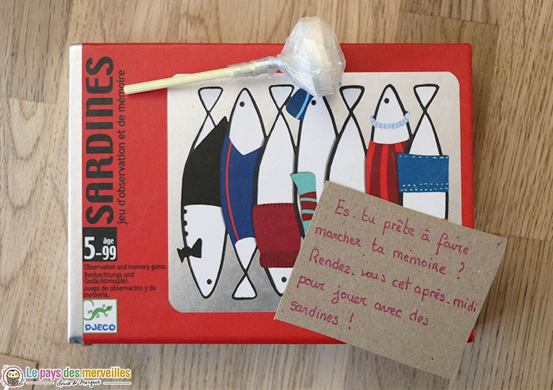 "Jeu ""Sardines"" de Djeco"