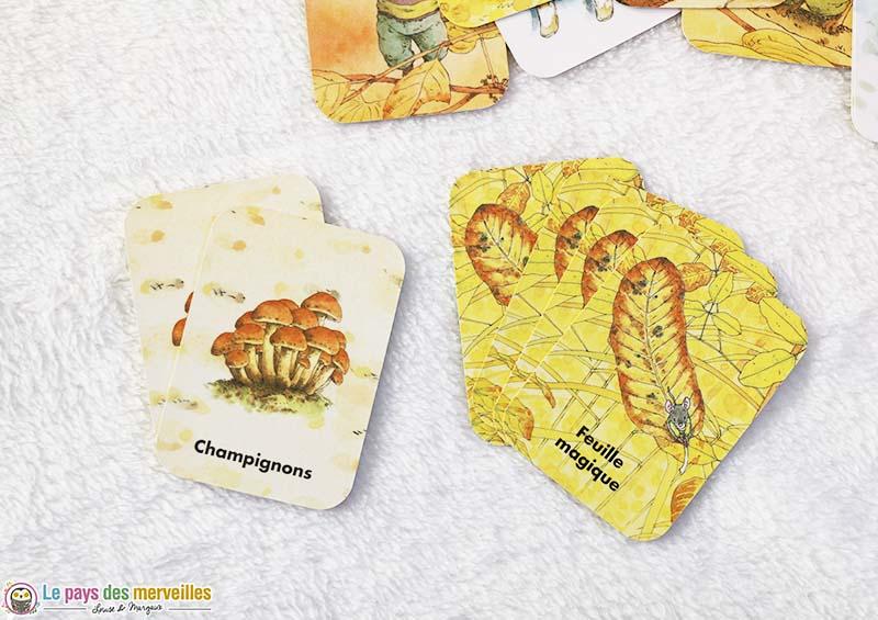 Cartes joker du loto de la famille Souris de l'école des Loisirs