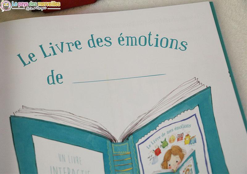 Livre sur les émotions de l'enfant