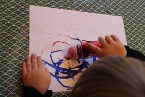 peindre avec un deo à bille