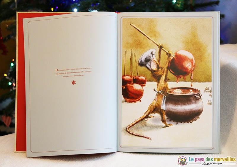 """Illustrations du livre """"Un Noël pour le loup"""""""