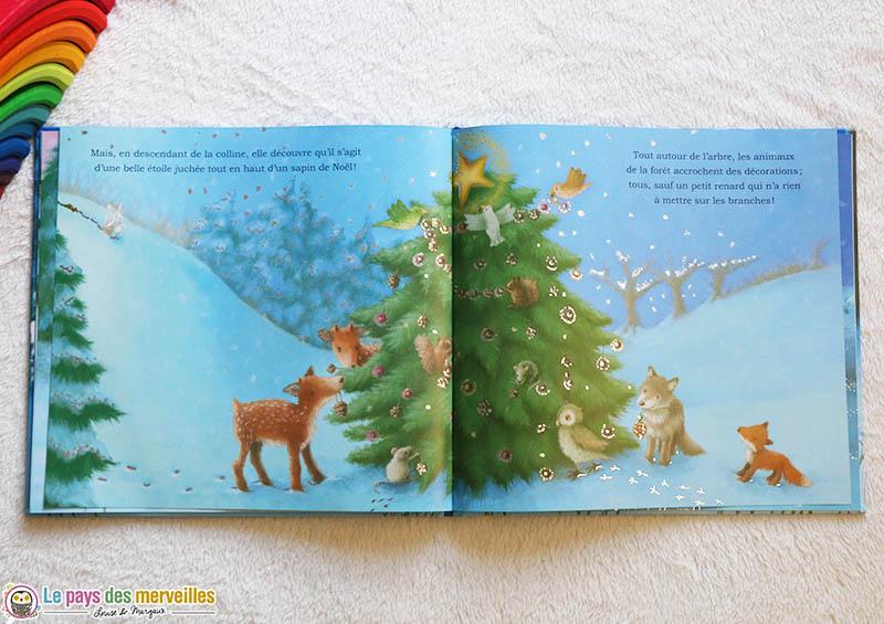 illustrations livre de Noël aux éditions Grund