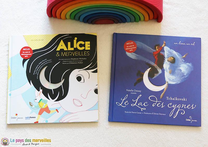 Livre-Cd des éditions Didier jeunesse