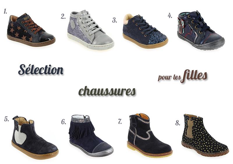 Sélection de chaussures hiver pour les filles