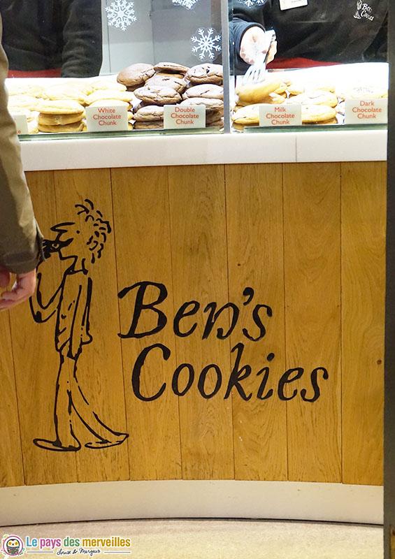Ben's Cookies : Meilleurs cookies de Londres