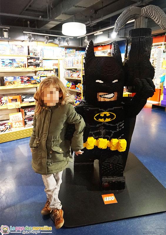 Batman géant en LEGO
