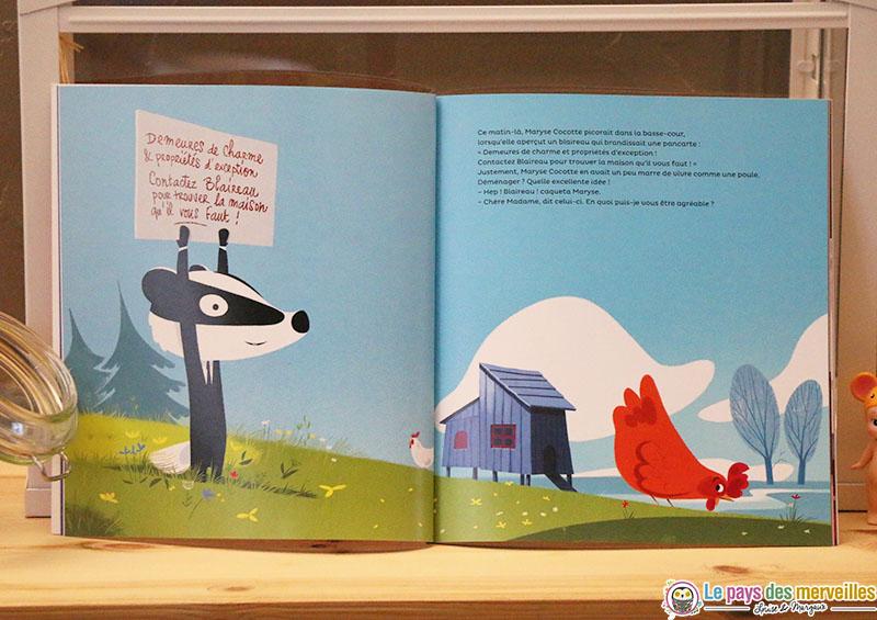 livre Bouquet d'histoires sur le thème du déménagement