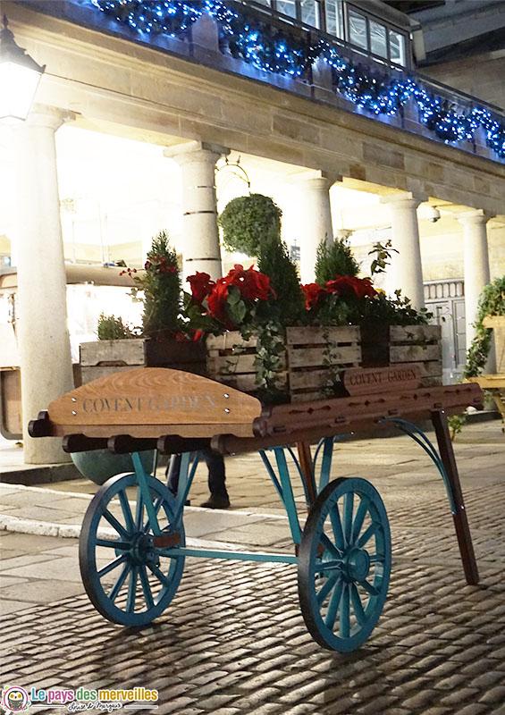 Covent Garden à Noël