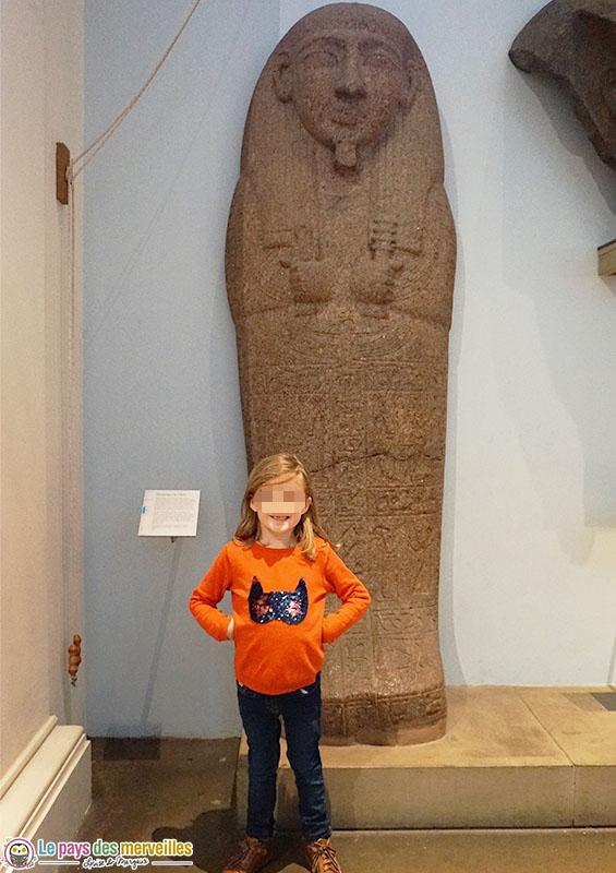 British museum de Londres avec enfant