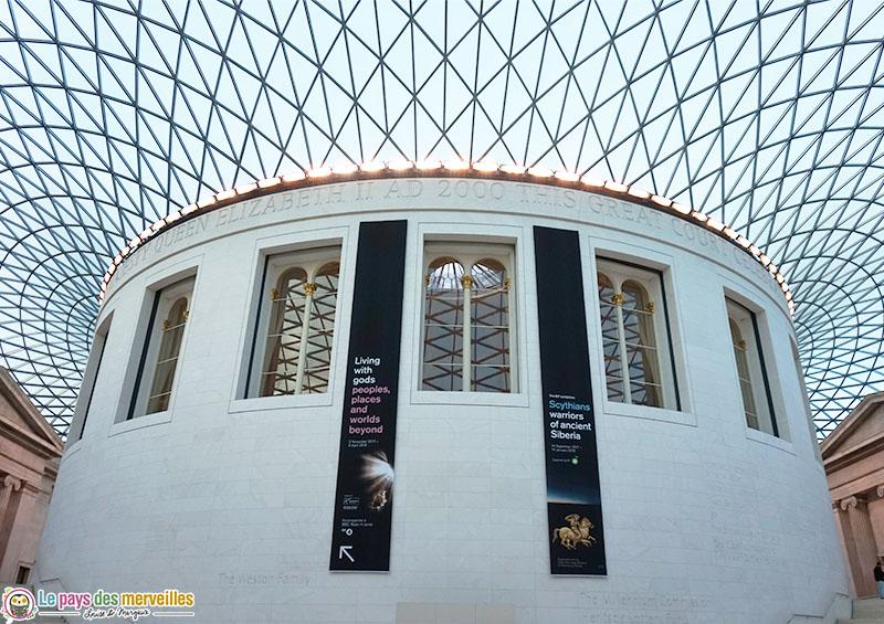 Intérieur du British museum