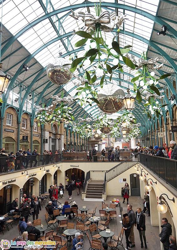 intérieur Covent Garden Londres