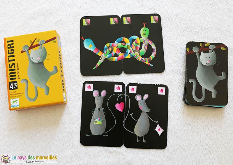 jeu de cartes Mistigri de DJECO