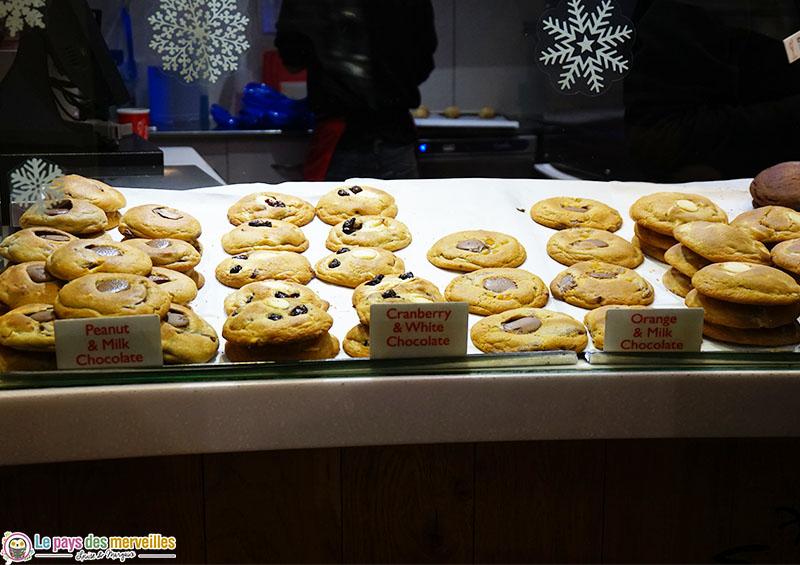 Cookies de chez Ben's Cookies