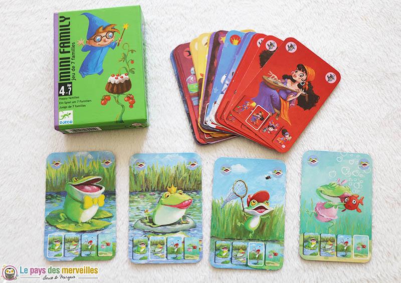 jeu de 7 familles pour les petits