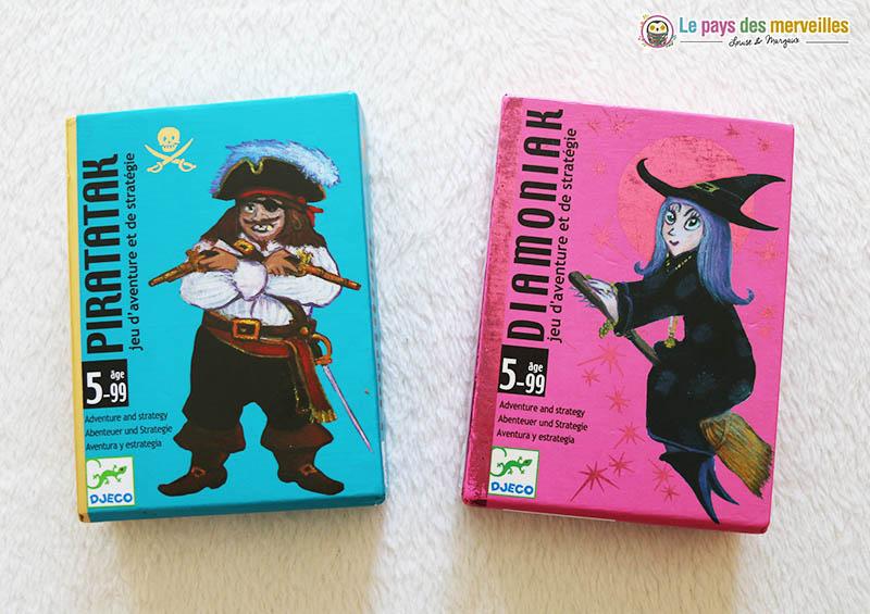 Piratatak et Diamoniak de Djeco