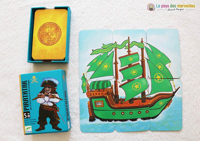 Jeu de cartes Piratatak de Djeco