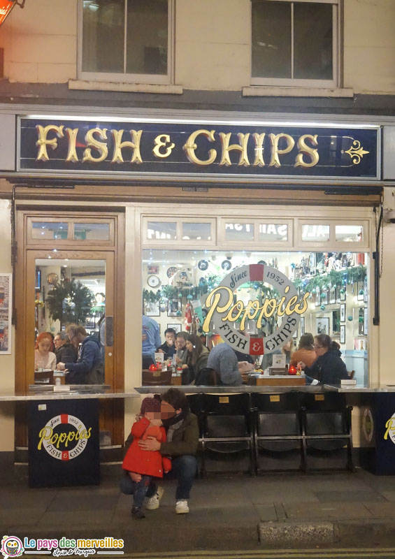 Restaurant Fish and Chips Londres