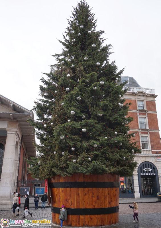 Sapin de Noël géant à Covent Garden
