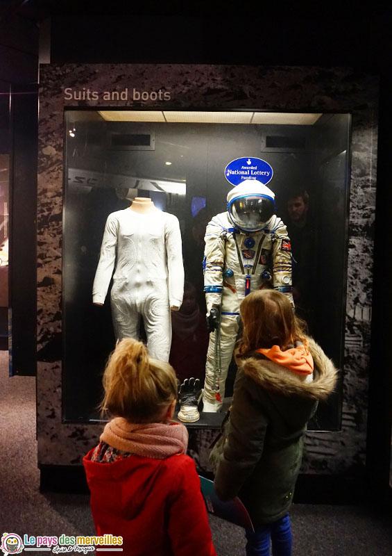 Science museum de londres espace