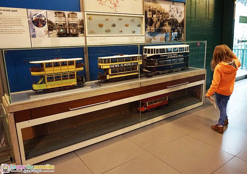 Musée des transports avec les enfants Londres