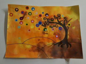 Peindre un arbre à la manière de Natasha Wescoat