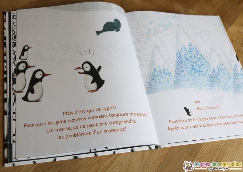 livre enfant sur le thème de l'hiver et de la nature