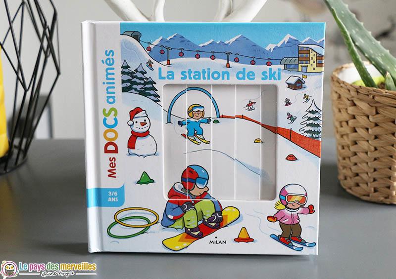 Mes docs animés : la station de ski