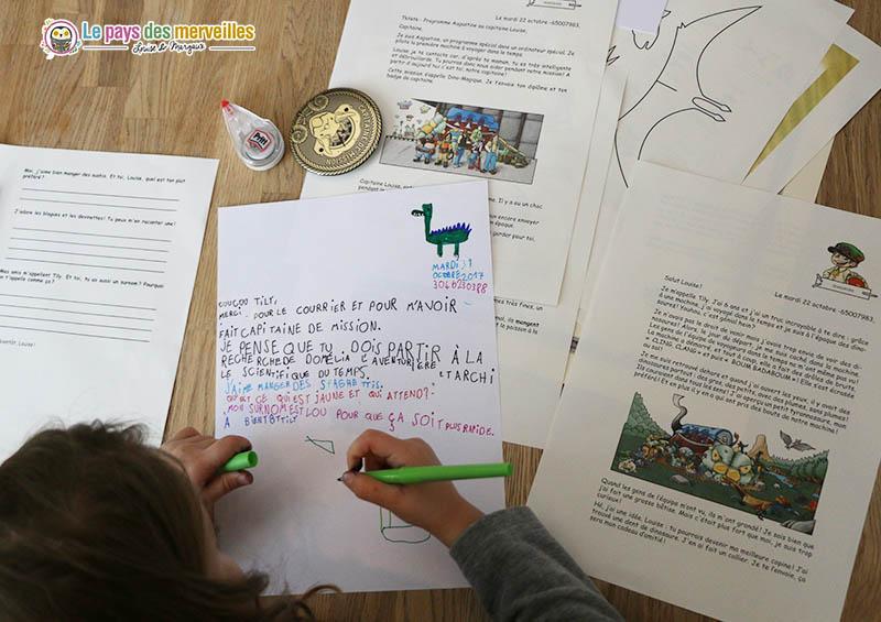 Exemple de réponse à une lettre personnalisée Epopia