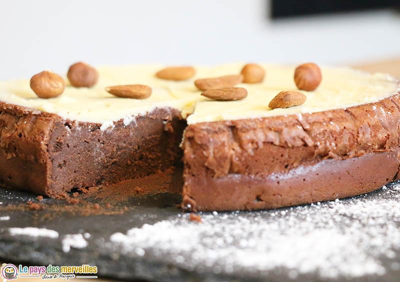 Gâteau facile au chocolat et à la mascarpone