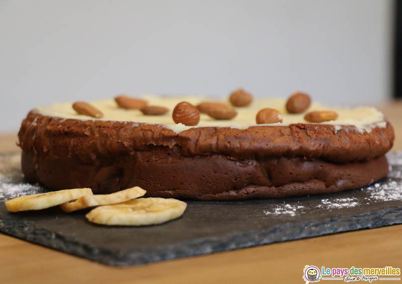 gâteau au chocolat inspiré d'une recette de Cyril Lignac