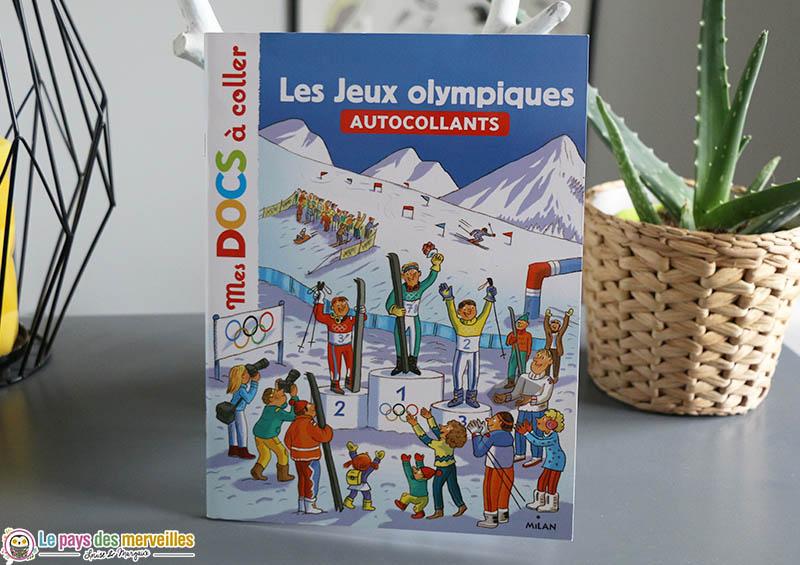 Mes docs à coller : Les Jeux olympiques (autocollants)