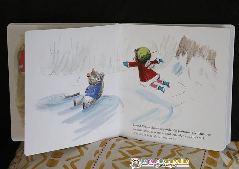 Livre enfant sur le thème de l'hiver