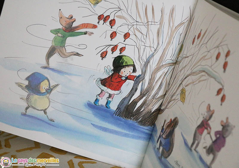 Minusculette en hiver des éditions Ecole des loisirs