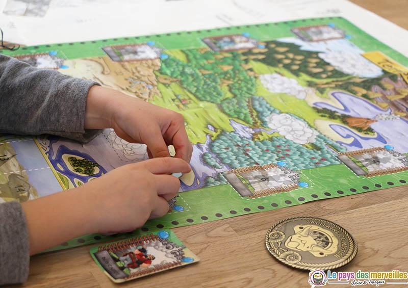 Carte mission dinosaures Epopia