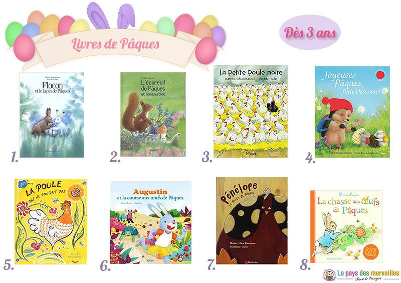 Lectures de Pâques pour les enfants de 3 ans