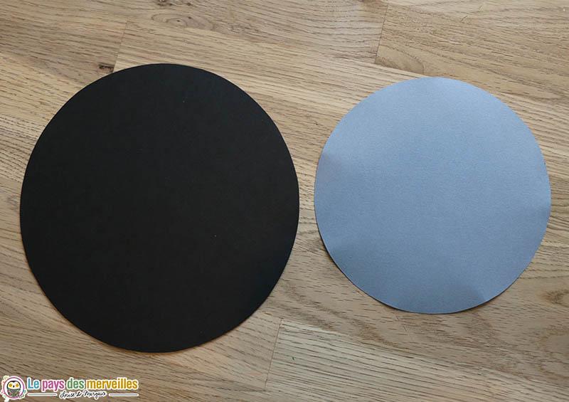 Cercles en papier