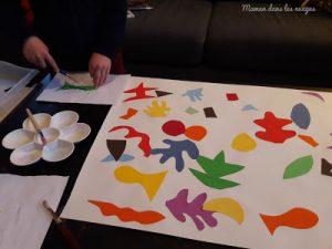 Collage à la manière de Matisse