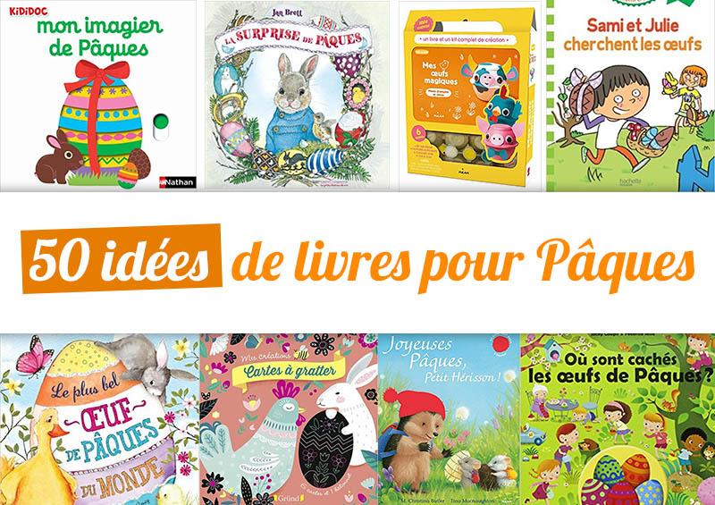 50 idées de livres pour Pâques