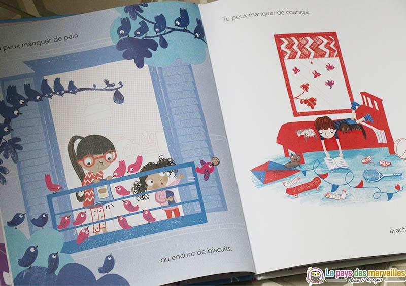 """illustrations du livre """"Une pluie d'amour"""""""