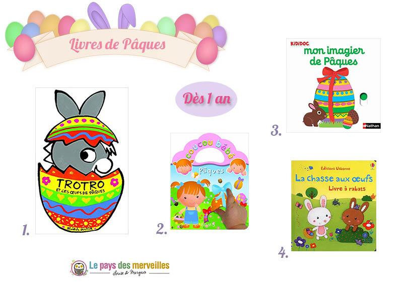Livres de Pâques pour les tout-petits
