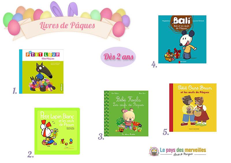 Livres de Pâques pour les enfants dès 2 ans