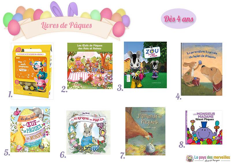 Livres sur le thème de Pâques pour les enfants dès 4 ans