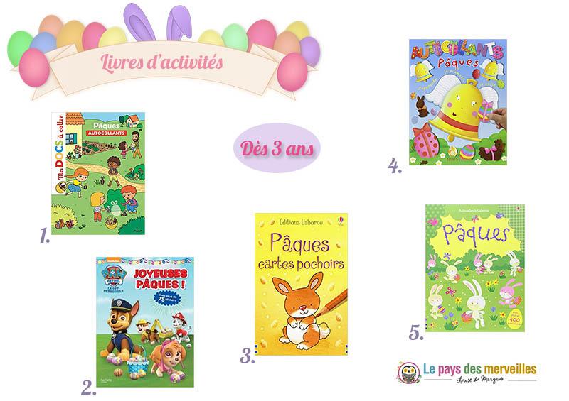 Livres d'activités de Pâques à partir de 3 ans