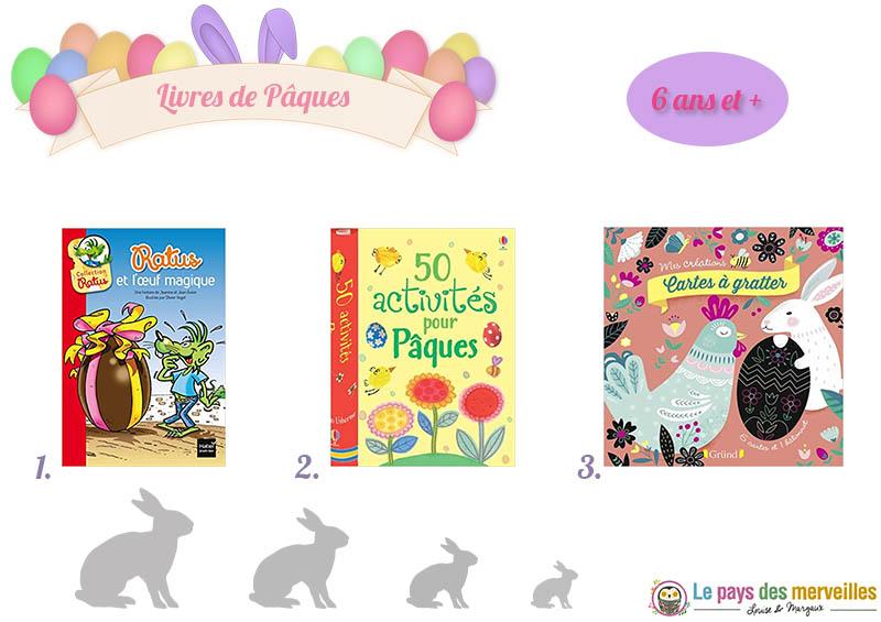 Livre de lecture et d'activités sur le thème de Pâques dès 6 ans