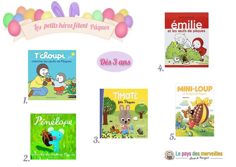 Livres de Pâques pour les enfants à partir de 3 ans