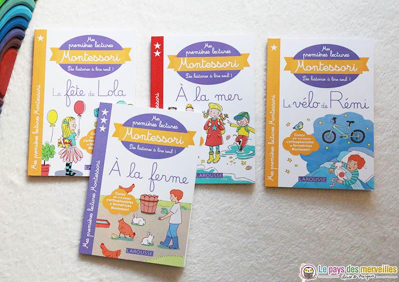 Premières lectures Montessori