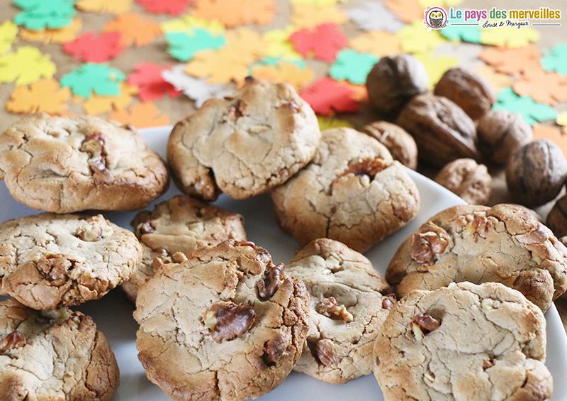 Recette cookies au noix