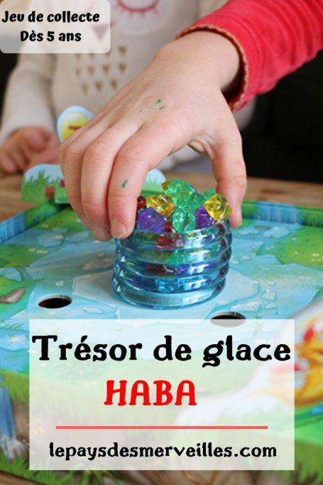 Jeu de société Trésor de glace de la marque Haba