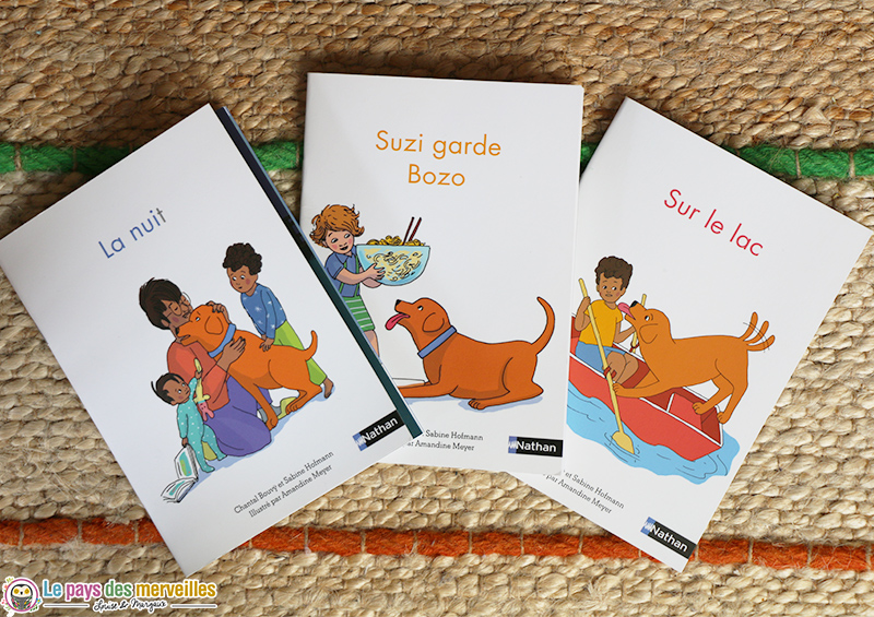 Livres de lecture phonétique Montessori