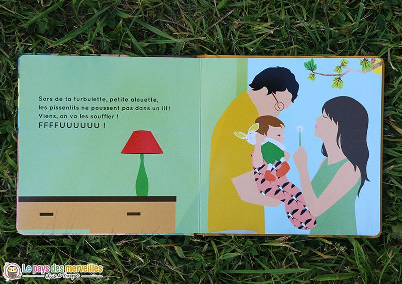 livre pour bébé sur le thème du printemps